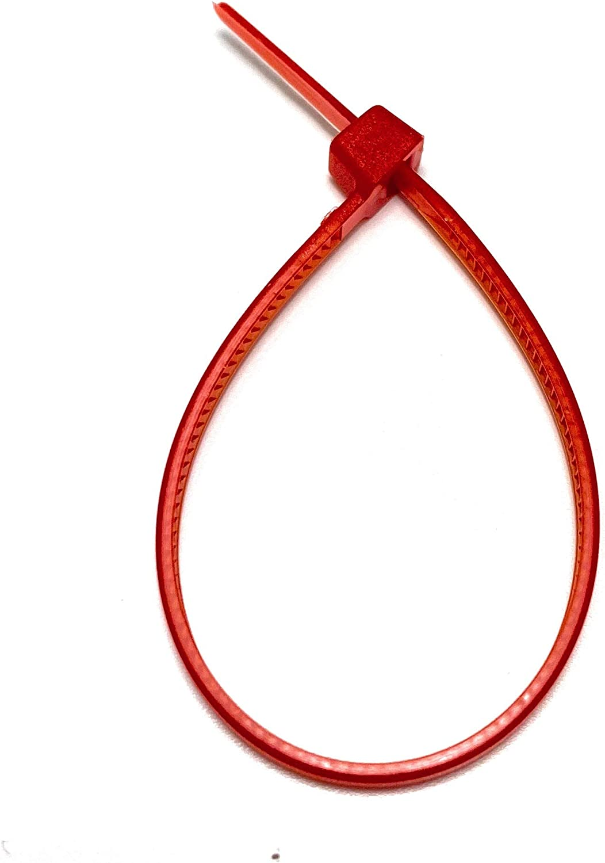 marr/ón 100 Piezas Juego Bridas de Plastico para Cables 2,5mm x 160mm