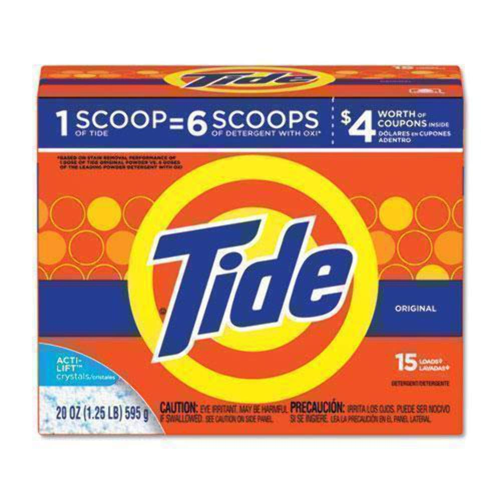 Tide Powder Laundry Detergent Original Scent 20 Oz