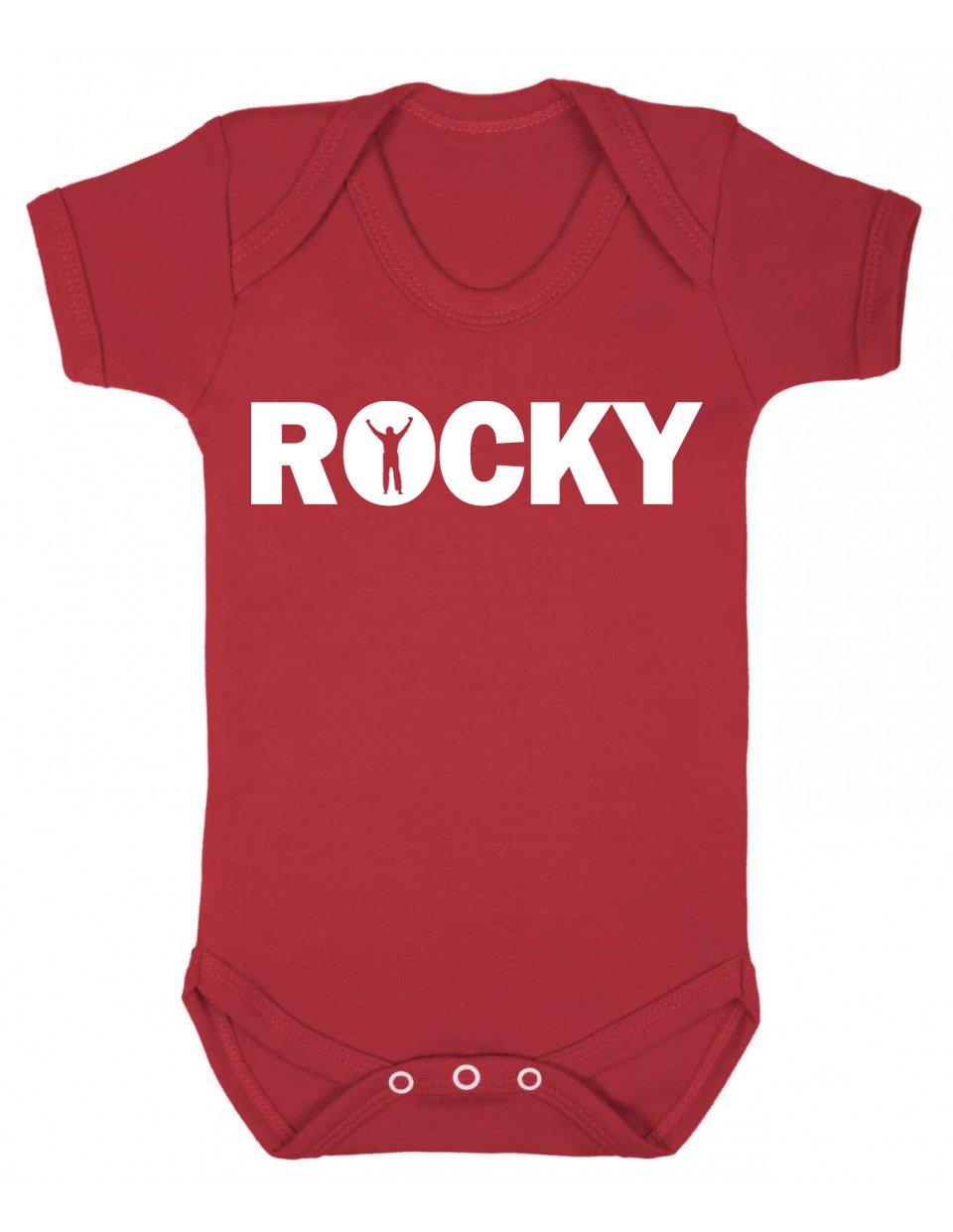 Rocky Baby Grow/Baby Vest/Bodysuit / Playsuit BABYBS0123
