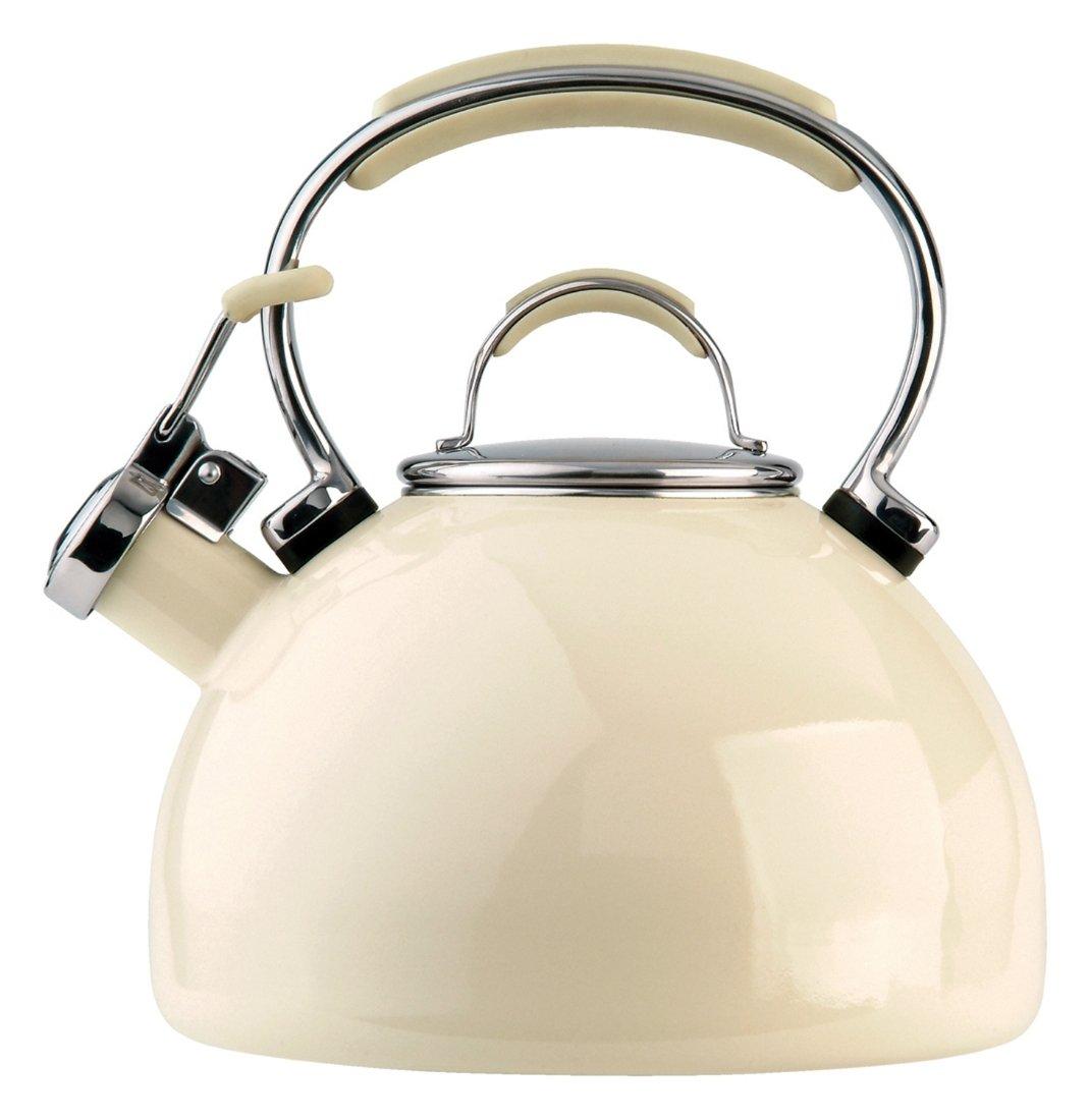 Prestige – Wasserkessel, Flötenkessel, Wasserkocher in Mandel - 2.0 Liter - 50559 Prestige – Wasserkessel Flötenkessel Meyer