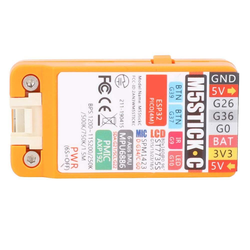 Placa de desarrollo M5Stick Placa de desarrollo IoT Mini Kit 3.94 x 3.15 x 0.79in Tama/ño con 0.96 pulgadas Pantalla LCD a color Micr/ófono 4MB Flash
