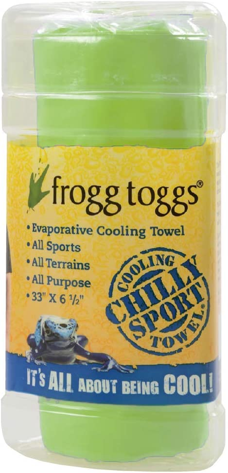 One Size Hi-Vis Green-One Size Frogg Toggs Chilly Sport