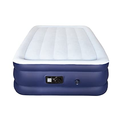 Amazon.com: Sable Air Mattress, Twin Size Double High Inflatable