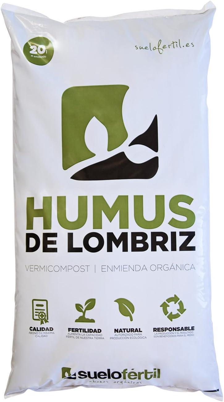 Suelo Fértil Humus de Lombriz 20l (12kg)