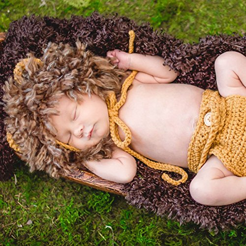 Baby Lion Halloween Costume Newborn Photo Outfit