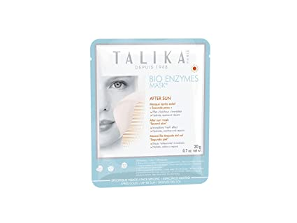 Talika Bio enzimas después del Sol Máscara Second Skin: Amazon.es ...