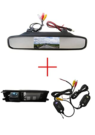 Germes Lab Rear View Camera Connection Cable for Renault Clio Sandero Trafic Opel Dacia with MediaNav Monitor