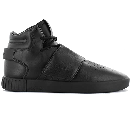 newest 7752a ef289 adidas Men s Tubular Invader Strap Gymnastics Shoes, Black Negbas Neguti  6.5 UK