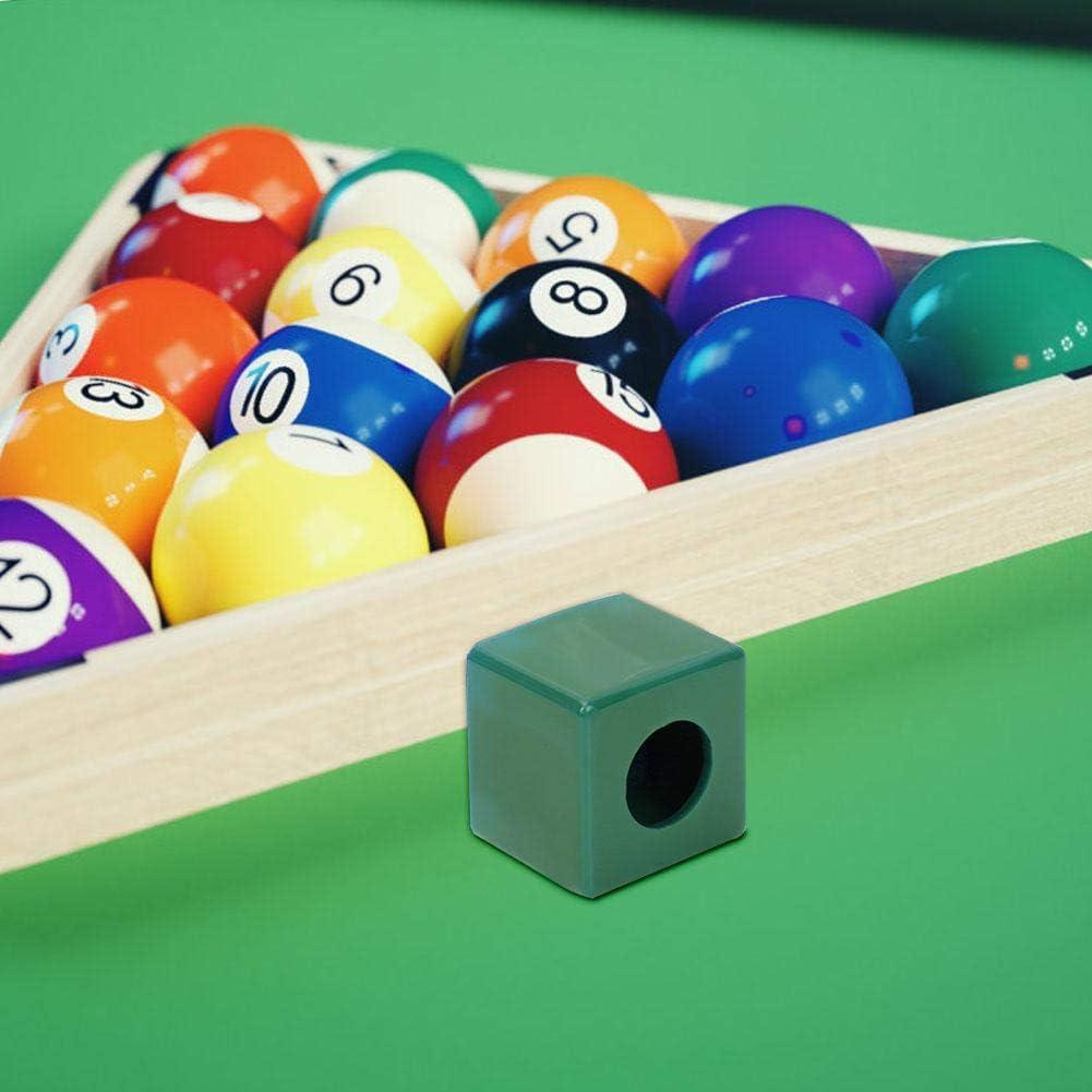 Zer one Durable Chalk Holder Portable Billiards Chalk Pool Cue Chalk Holder Billiards Accessory