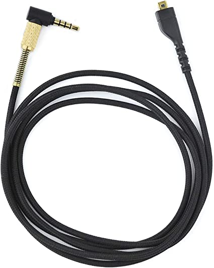 Male to Male KeyEntre Replacement Audio Cable for SteelSeries Arctis 3 Arctis Pro Wireless Arctis Pro Gaming Headset 1.5M//4.9 Feet Arctis 5 Arctis 7