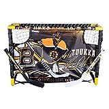 Franklin Sports Mini Hockey Goal Set with Target - NHL - Tuukka Rask