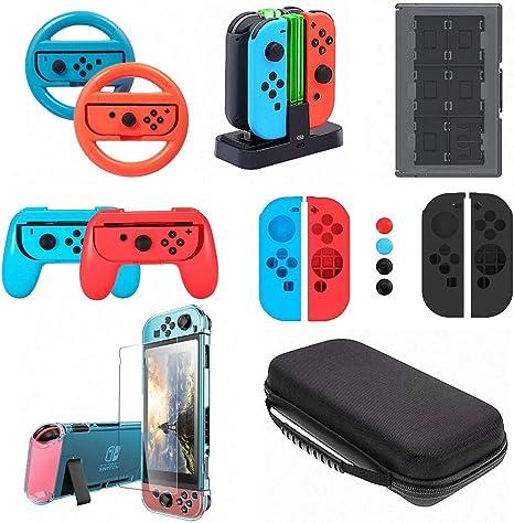 Kit de accesorios profesional para interruptor de Nintendo switch ...