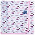 KicKee Pants Swaddling Blanket - Girl Dino Print
