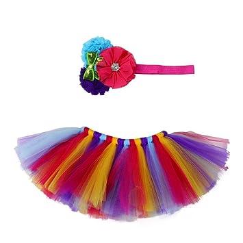3d846723d Amazon.com: Cinhent Clothes Stylish Newborn Baby Girls Tutu Skirt ...