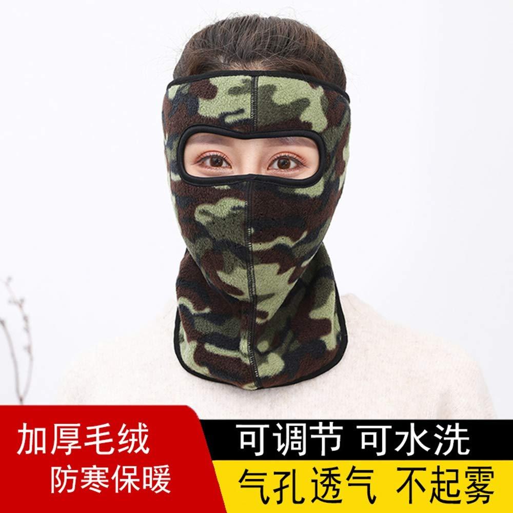 FimGGe Máscaras enmascaradas máscaras cálidas para Hombres y Mujeres máscaras de Invierno carros eléctricos de Cara Completa protección contra el Viento y el