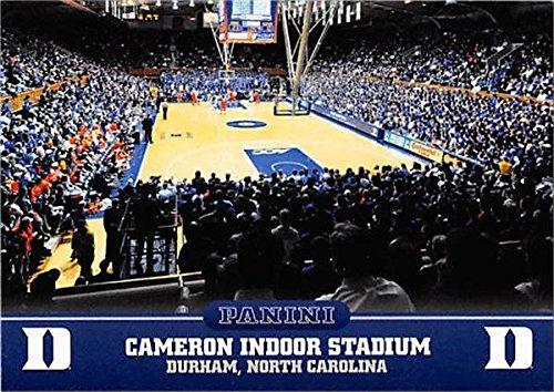 Cameron Indoor Stadium basketball card (Duke Blue Devils) 2015 Panini Team Collection #7 Duke Cameron Indoor Stadium