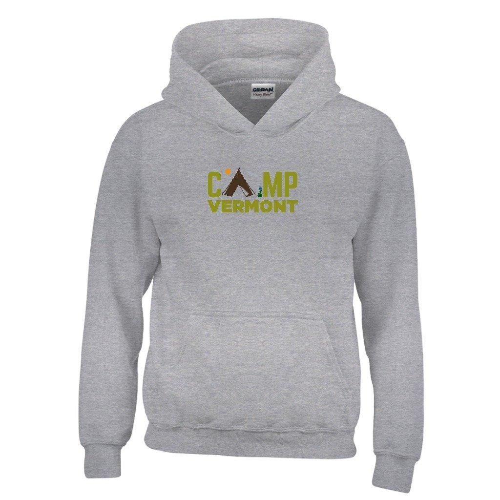 Kids Sweatshirt Tenn Street Goods Vermont Camping Youth Hoodie