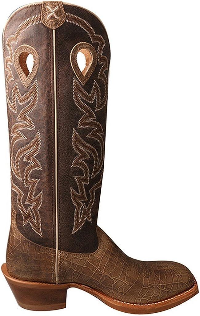Twisted X Mens Buckaroo Cowboy Boot Square Toe Mbk0030