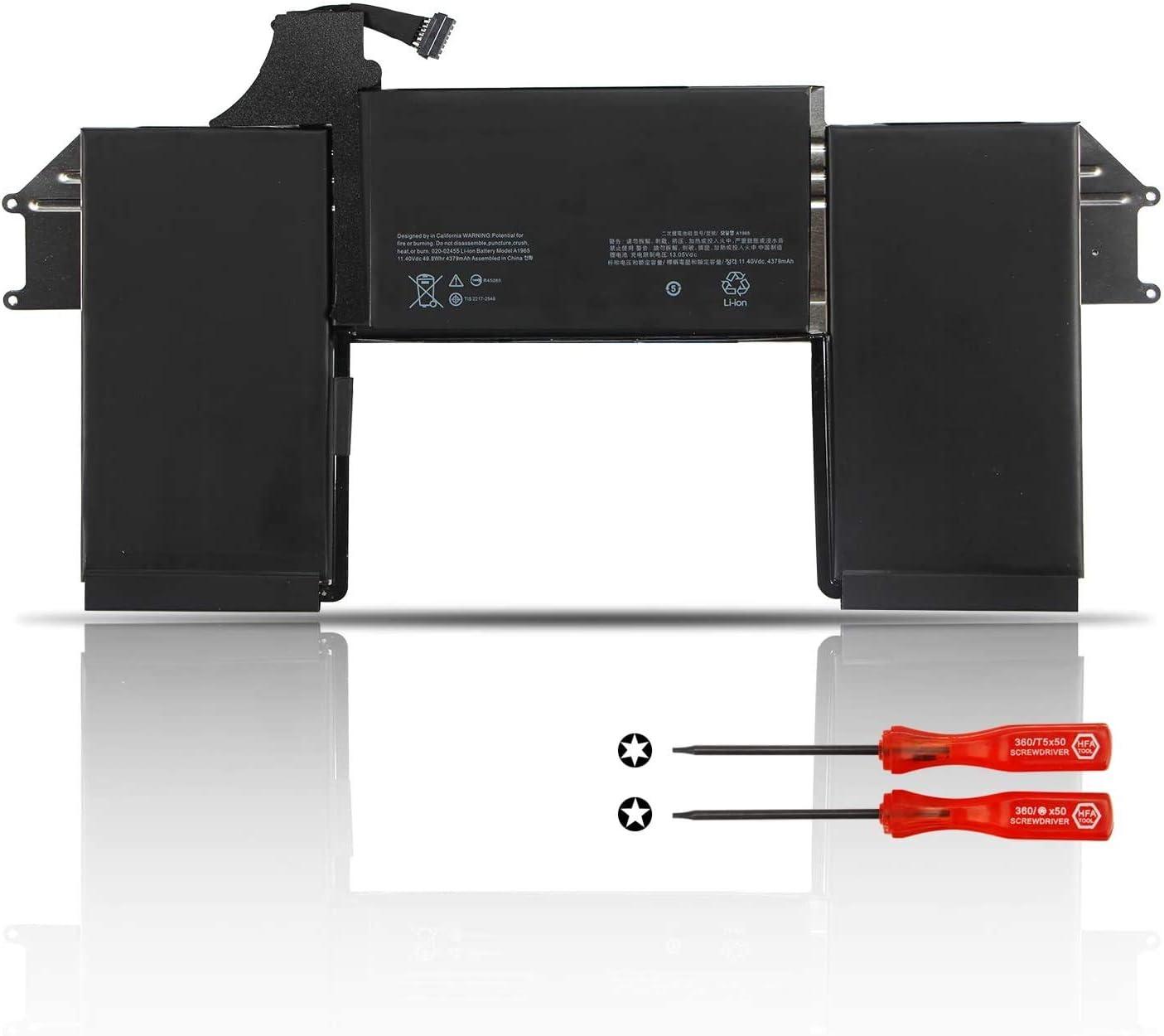 ZTHY A1965 Laptop Battery for MacBook Air 13