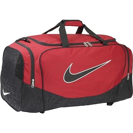 Amazon.com: Nike Brasilia 5 Duffel Bolsa de gimnasio, Negro ...
