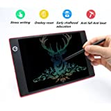 LCD Writing Tablet Colorful Screen Display 9.7-inch , YODAY-LCD Drawing Board/ Message Board/ Screen Handwriting Pad Paperless Drawing Writing Tool Graffiti Board with Family Memo, Office Writing