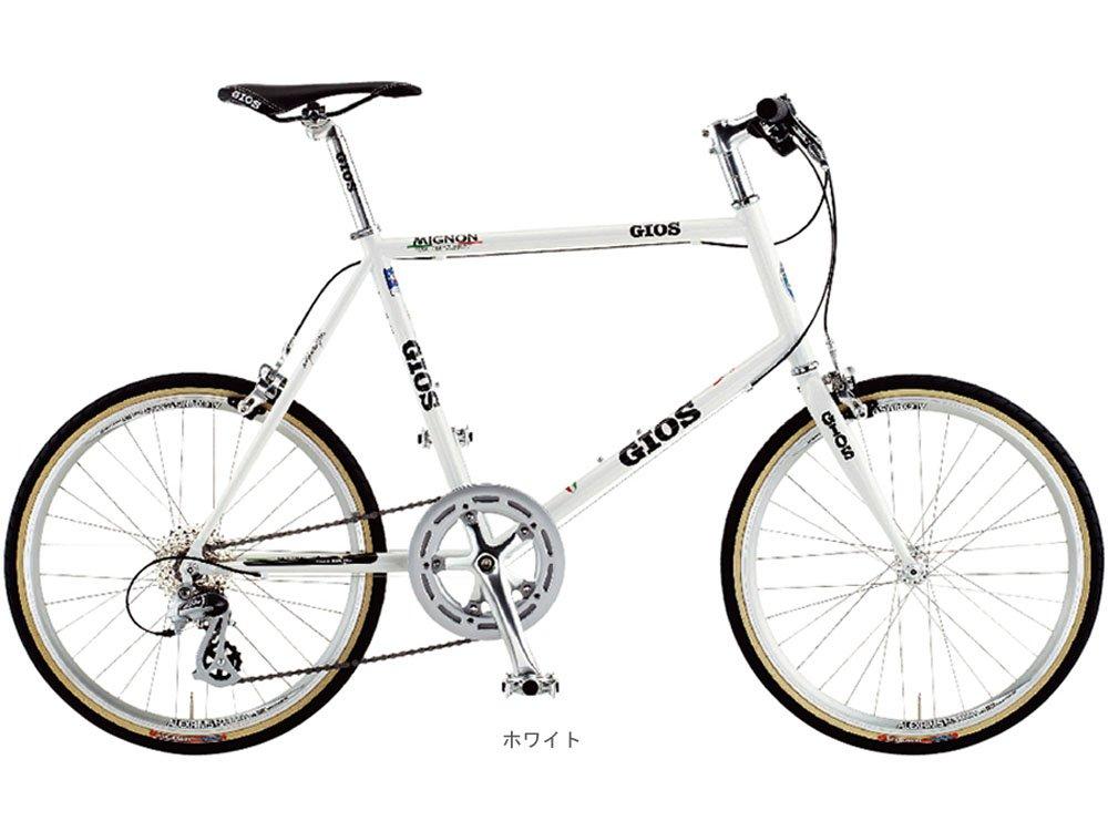 GIOS(ジオス) 2018 MIGNON ミグノン(1x8速)ミニベロバイク20インチ <ホワイト> B078N6ZTFM470mm