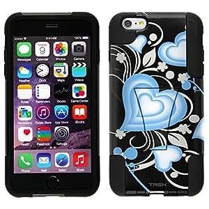 Trek Hybrid Stand Case for Apple iphone 5c - Brave Heart Blue on Black