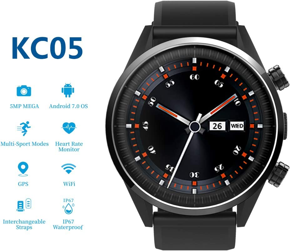 Amazon.com: HouseMao 4G Smartwatch, KC05 LTE Smart Watch for ...