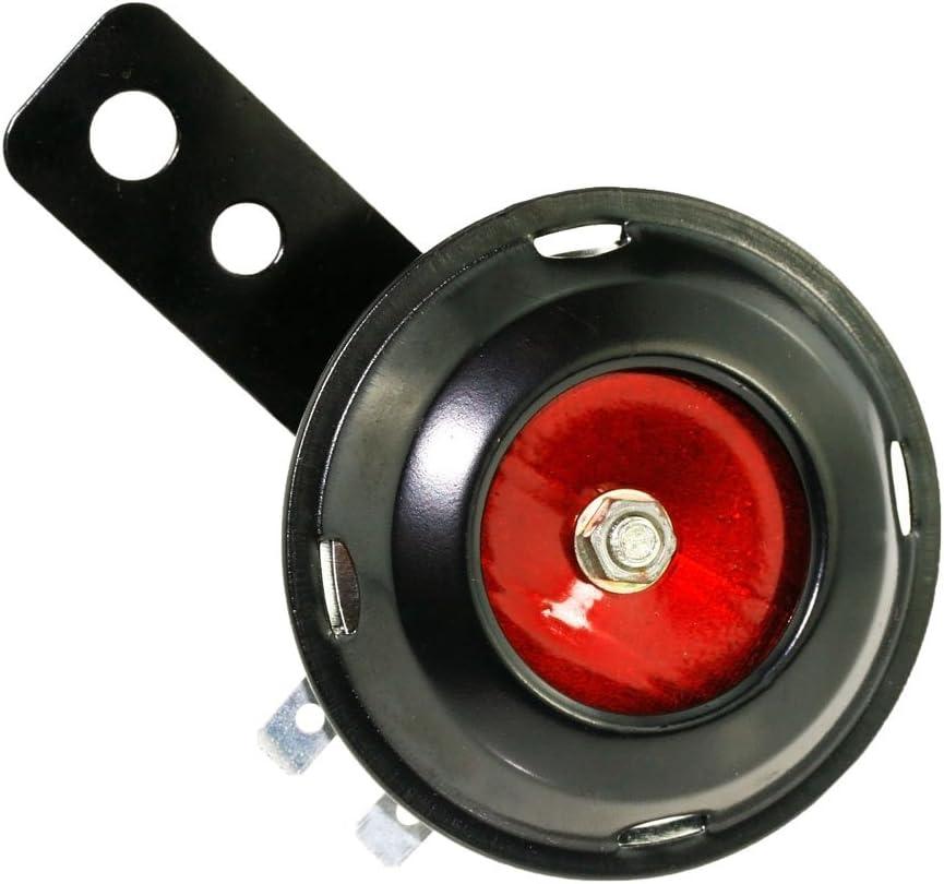 Universal 60V 100db Waterproof Motorcycle Scooter Bike Horn Loud Tone Sound P OR