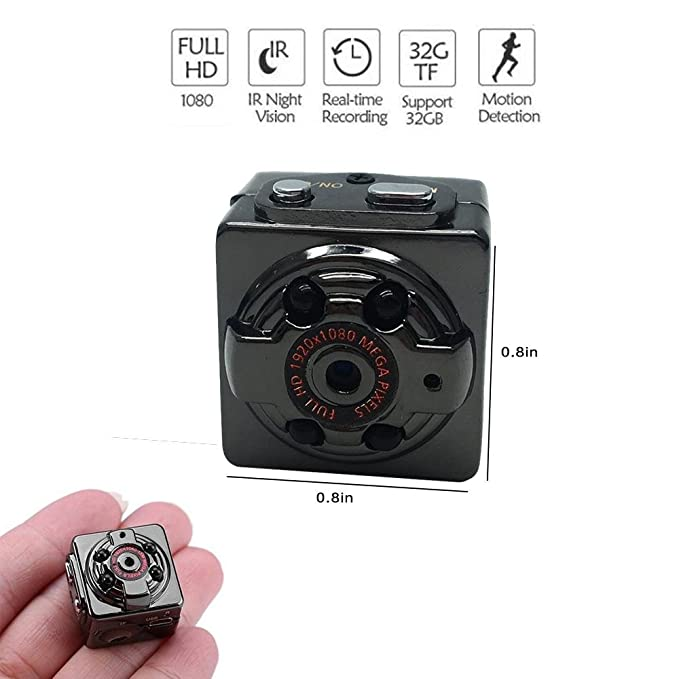 Amazon.com: Teepao Wall Mount Hidden Camera, Full HD 1080P Recordable Hidden Camera with Night Vision & Motion Detection, All Metal Chassis Miniature Hidden ...