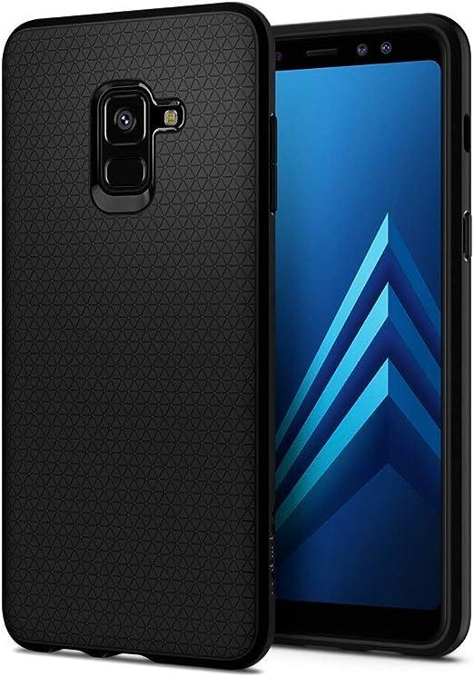 Spigen Liquid Air Works with Samsung Galaxy A8 Case (2018) - Matte Black