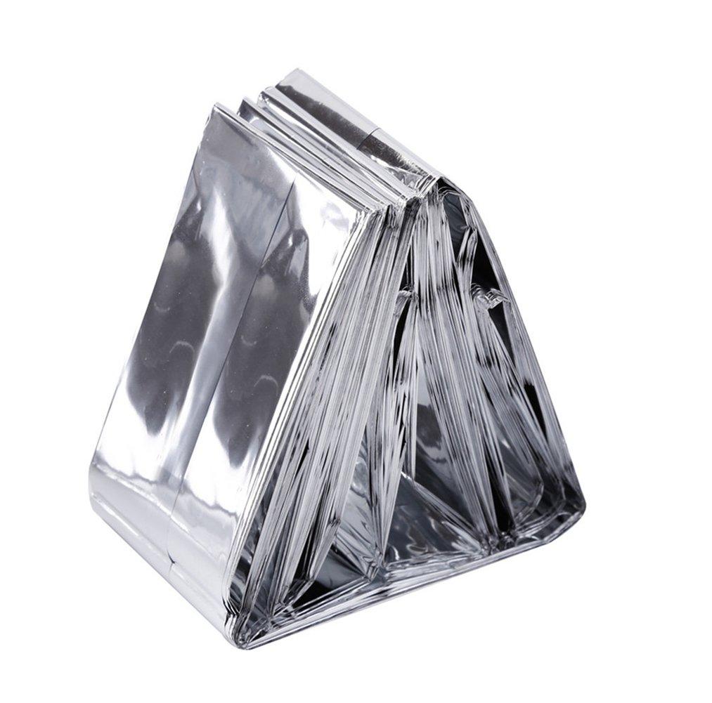 Somine Mantas de Emergencia(Paquete de 5) Tamaño Grande:210 X160cm, Refleja mas del 90% del Calor del Cuerpo