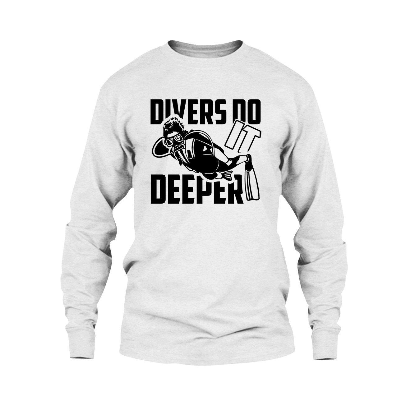 Mens Shirt Divers Do It Deeper Shirt Tee Shirt