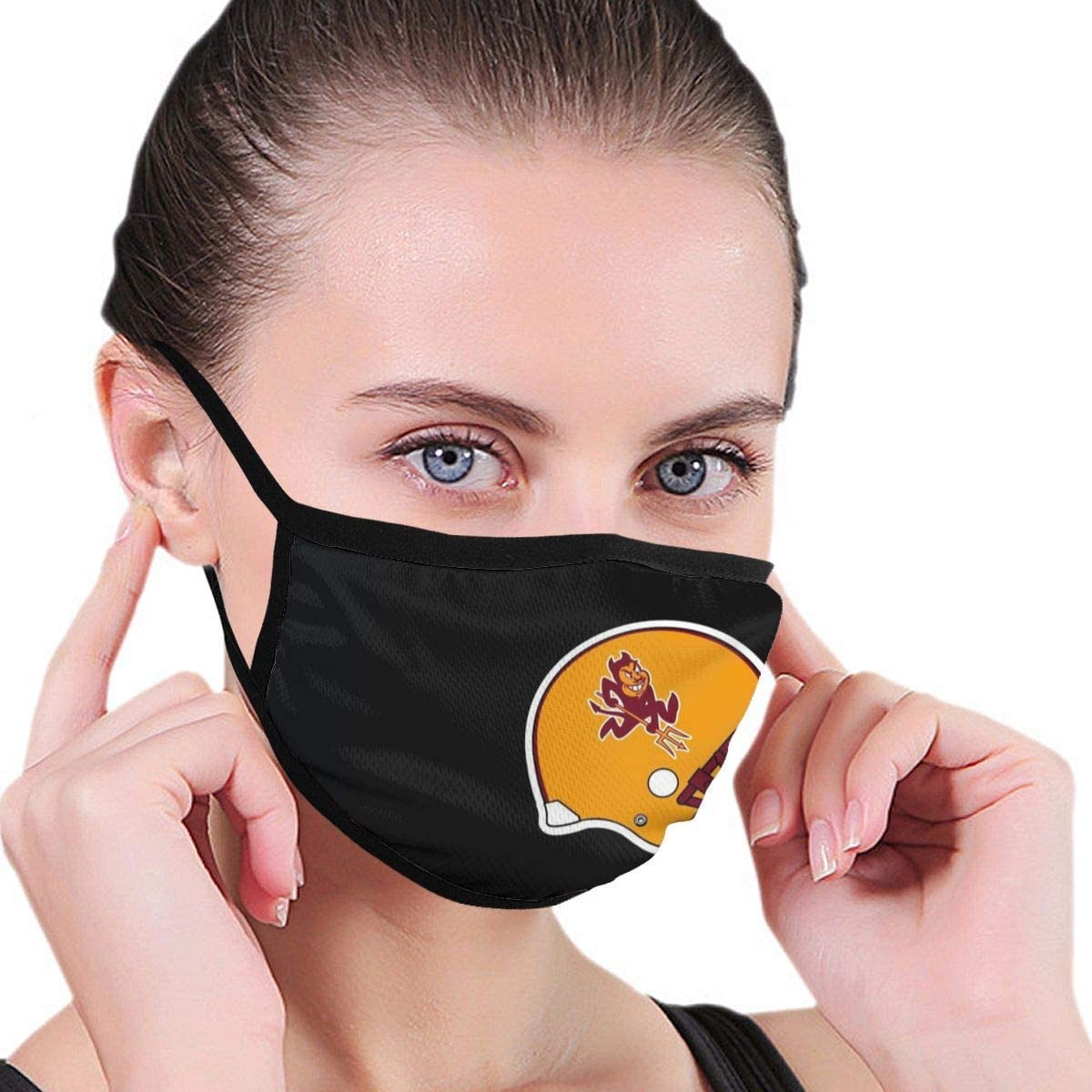 Amazon.com: Arizona State Sun Devils Dust Face Cover Washable  Reusable,Dustproof,Cycling(Adults&Kids Size): Clothing