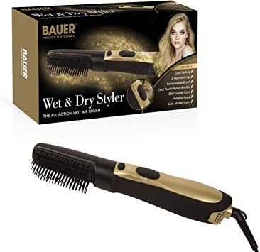 Bauer Professional - Wet and Dry Hot Air Styler