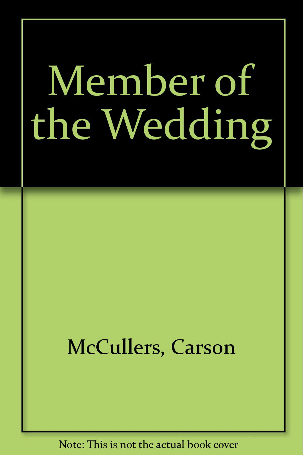 Member of the Wedding