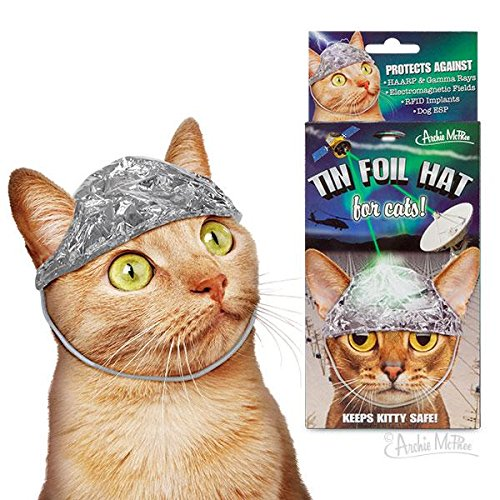 (Archie McPhee Tin Foil Hats for Conspiracy Cats)