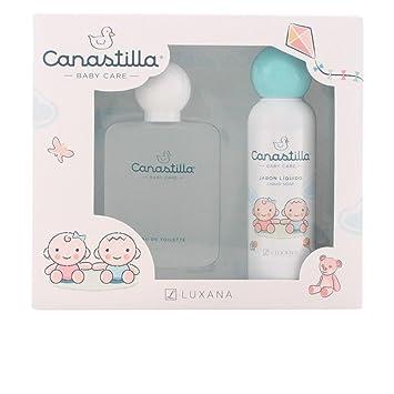 Canastilla Bebe Amazon.Luxana Canastilla Set Contains Eau De Cologne And Liquid