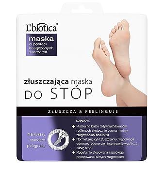 L'biotica Exfoliating Peel Foot Sock Mask (40ml x 2)