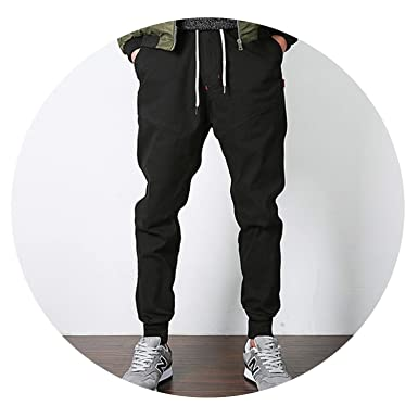 stylish design 2019 factory price largest selection of Stretch Men's Joggers Pants 2019 Spring/Autumn Khaki/Black ...