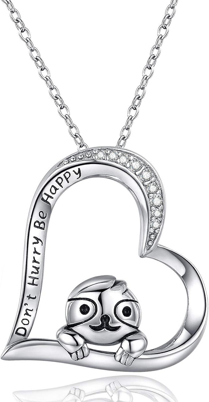 moderner Schutz Engel mit Zirkonia Flügel im Herz Anhänger mit Kette Silber 925