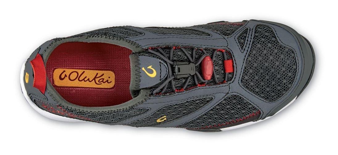 OLUKAI Eleu Trainer Shoe B(M) - Women's B010EAW2FG 8.5 B(M) Shoe US|Dark Shadow/Deep Red 3927e1