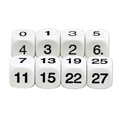 Koplow Games Math Numbers Dice: Toys & Games