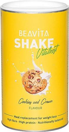 Batidos para adelgazar sabor Cookies & Cream 572 g – Sustitutivo de comida proteico – Batido saciante de apetito – Para perder peso y mantener músculo ...