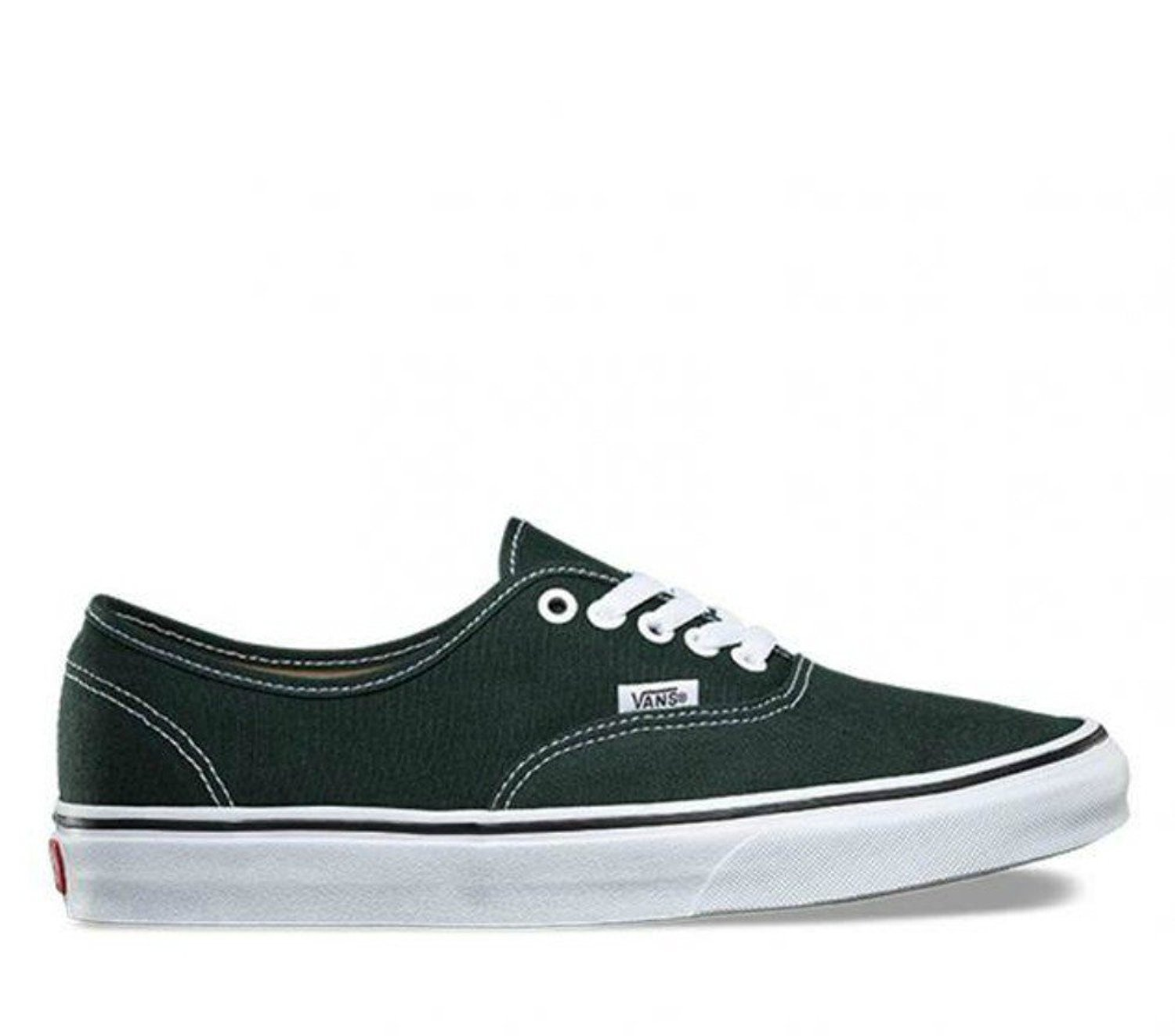 Vans Authentic B06Y5YDGP6 8.5-Women/7-Men Medium (D, M) US|Scarab/True White