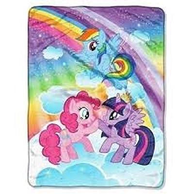 My Little Pony Super Plush Throw: Home & Kitchen