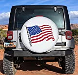 Tsofu Spare Tire Cover PVC Leather Waterproof