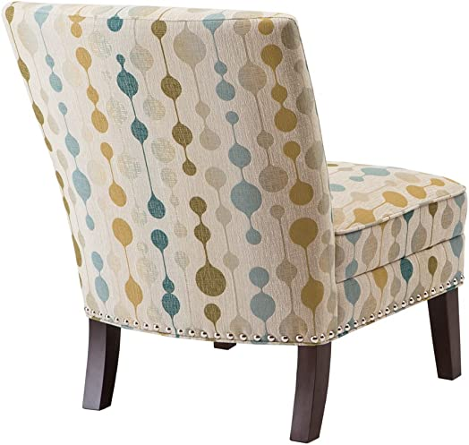 Madison Park Print Slipper Accent Chair