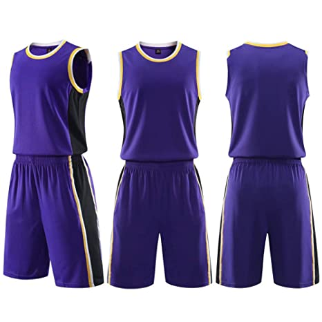 WOFEI Jersey de Baloncesto Deportivo para Hombres Adultos ...