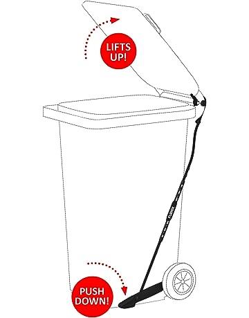 Pedal FLIDOX regulable para contenedores de basura para eliminar residuos de forma higiénica y con las
